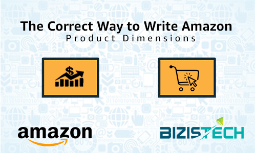 The Correct Way to Write Amazon Product Dimensions